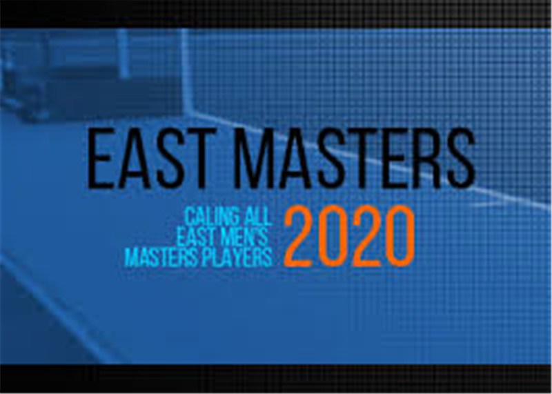 East Masters Men - Player Update